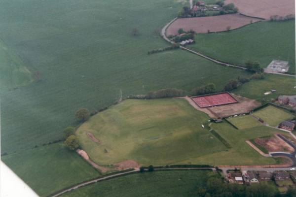 Aerial shot of old facilities 2