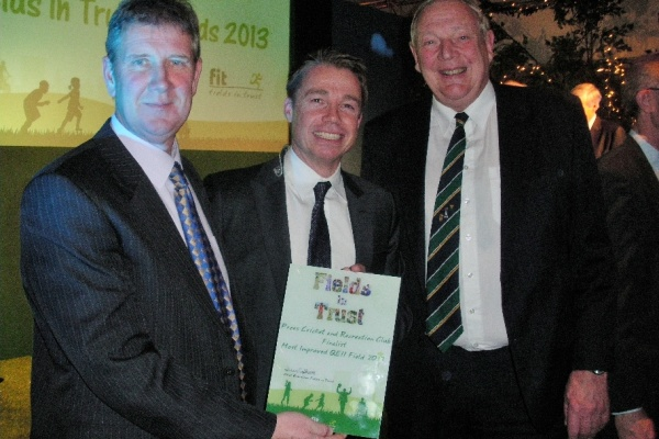 Finalists Fields in Trust Most Improved Playing Fields 2014