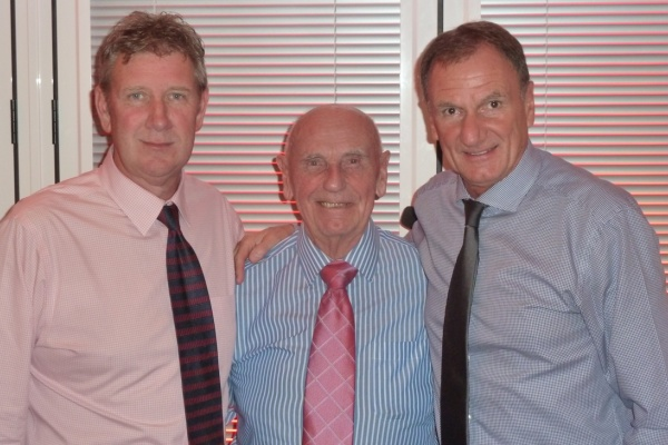 Gary & Ray with Phil Thompson ex-Liverpool England footballer